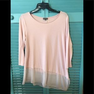Blush Colored Camuto Top